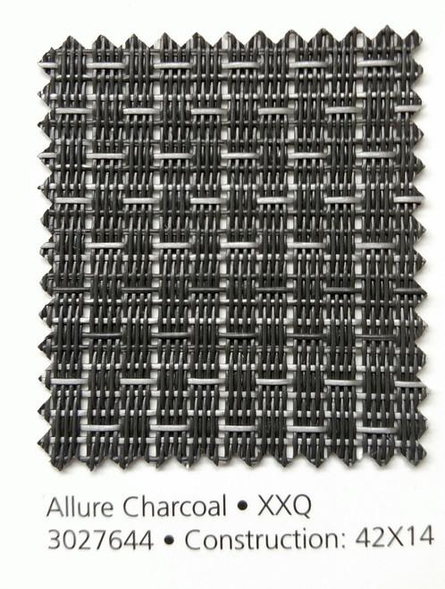 "Phifertex PLUS Plain Mesh Allure Charcoal 54"""