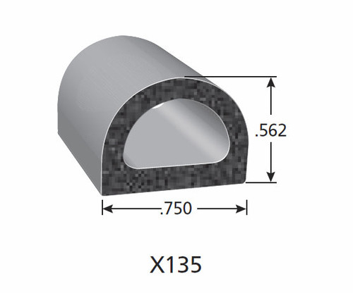 Rubber Seal X135-HT
