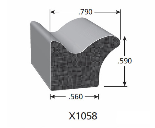 Rubber Seal X1058-HT