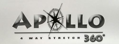 "Apollo 4-WAY STRETCH Light Gray Vinyl 54"""