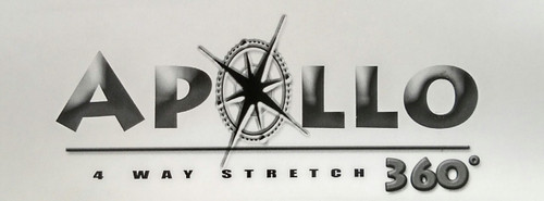 "Apollo 4-WAY STRETCH Black Vinyl 54"""