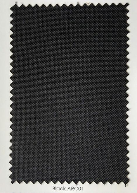 "Arcaida Black Outdoor Fabric 60"""