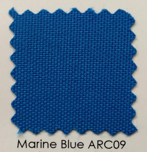 "Arcadia Marine Blue Outdoor Fabric 60"""