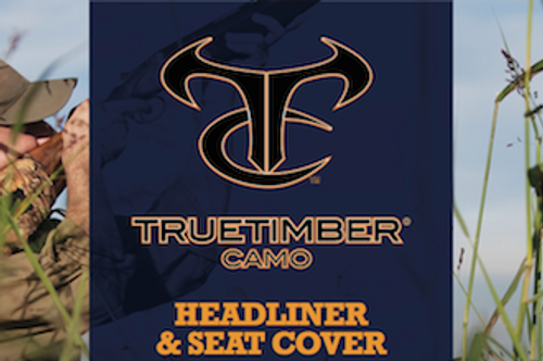 True Timber Camo TT07 Mixed Pine SEAT FABRIC!