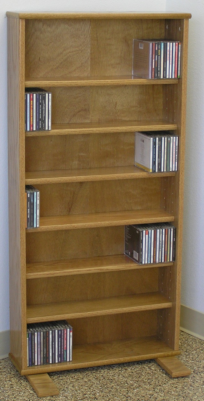 solid dvd with cd storage cabinet wood