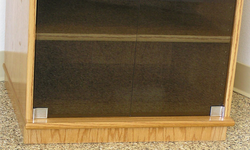 Audio rack 61 high oak maple usa made ships free audio rack with glass doors 61 inches high bottom trim of cabinet hides 6 dual planetlyrics Images
