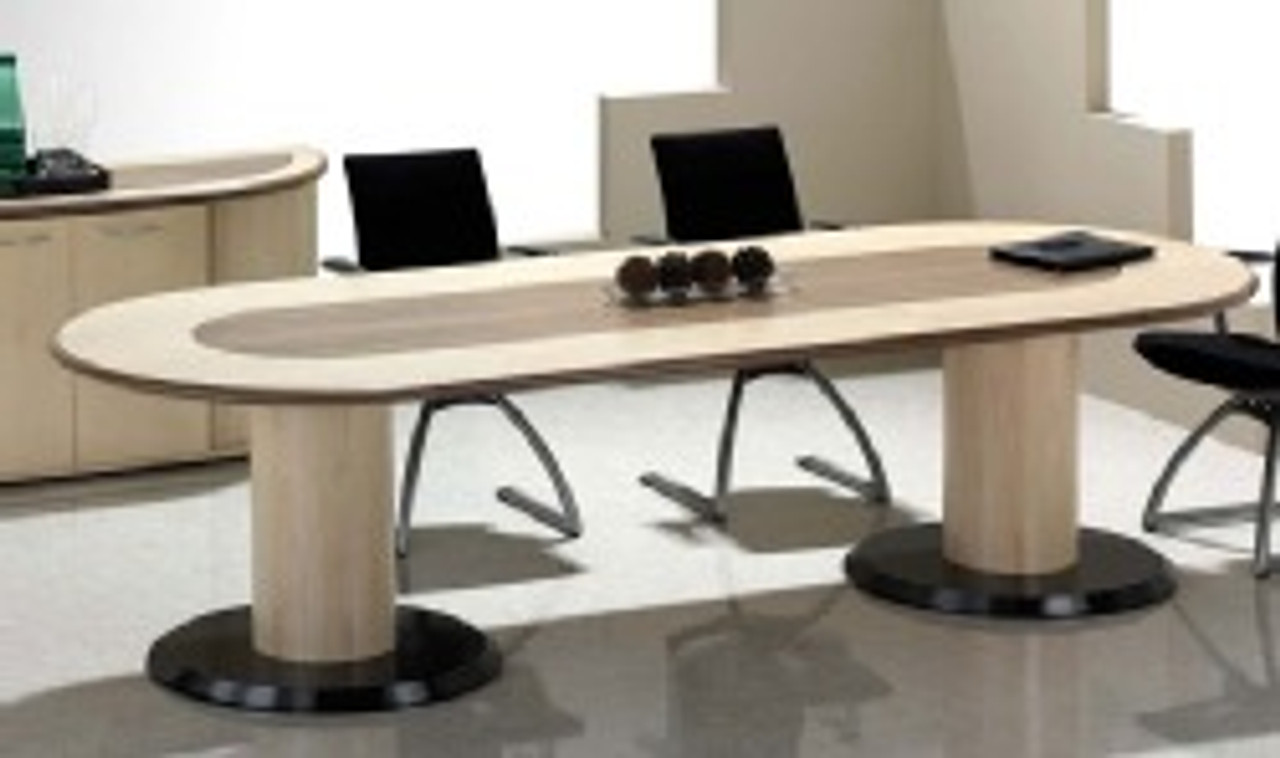 Fulcrum D-End Meeting Table