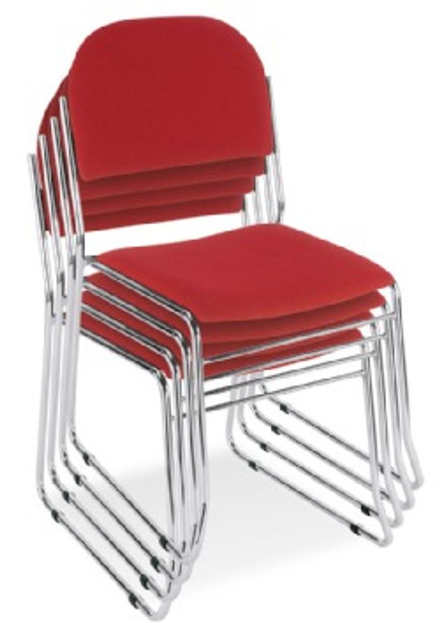 Vesta Chrome Frame Stacking Chairs
