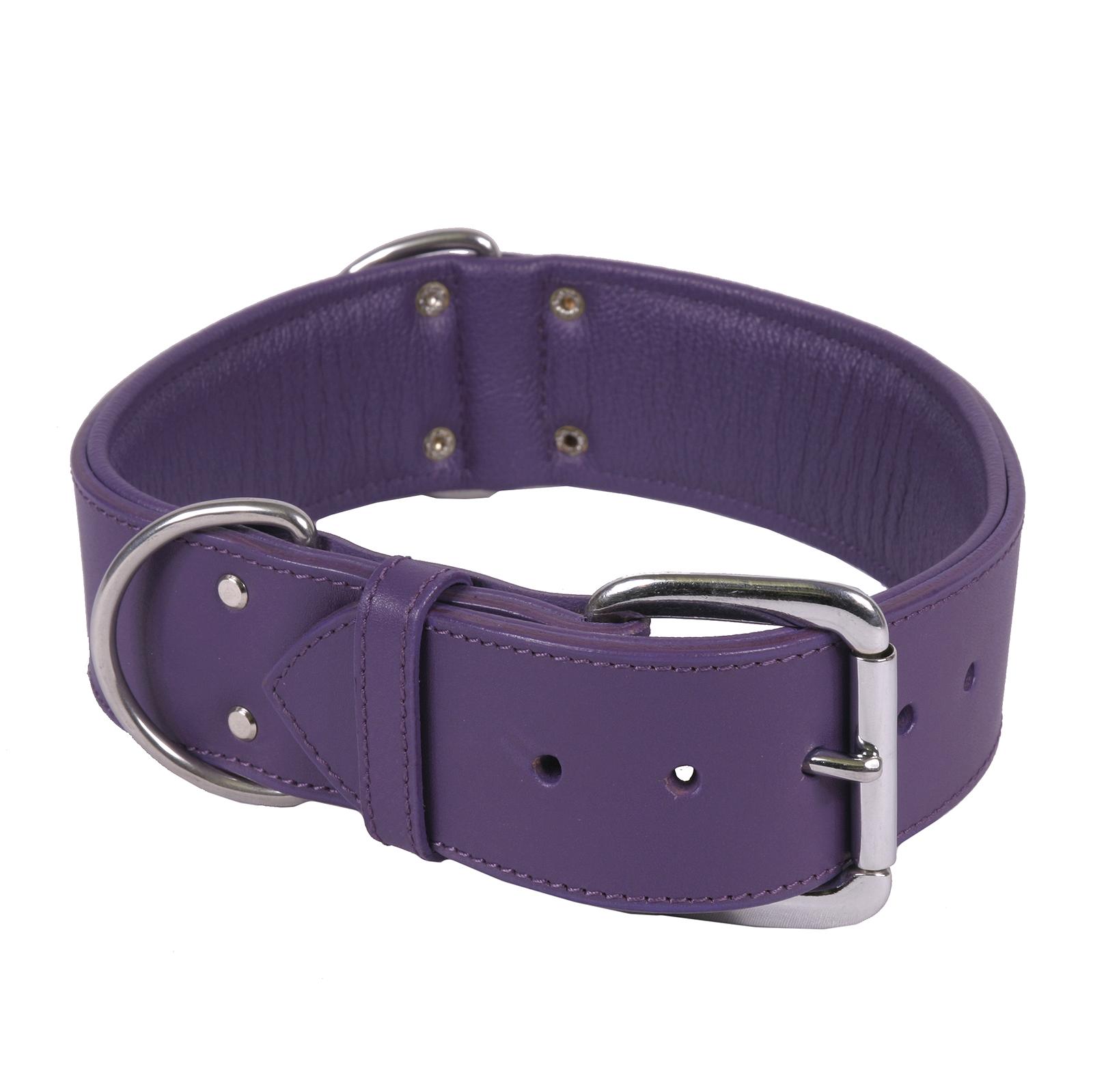 Hot Dog The Dallas - Luxury Leather Dog Collar