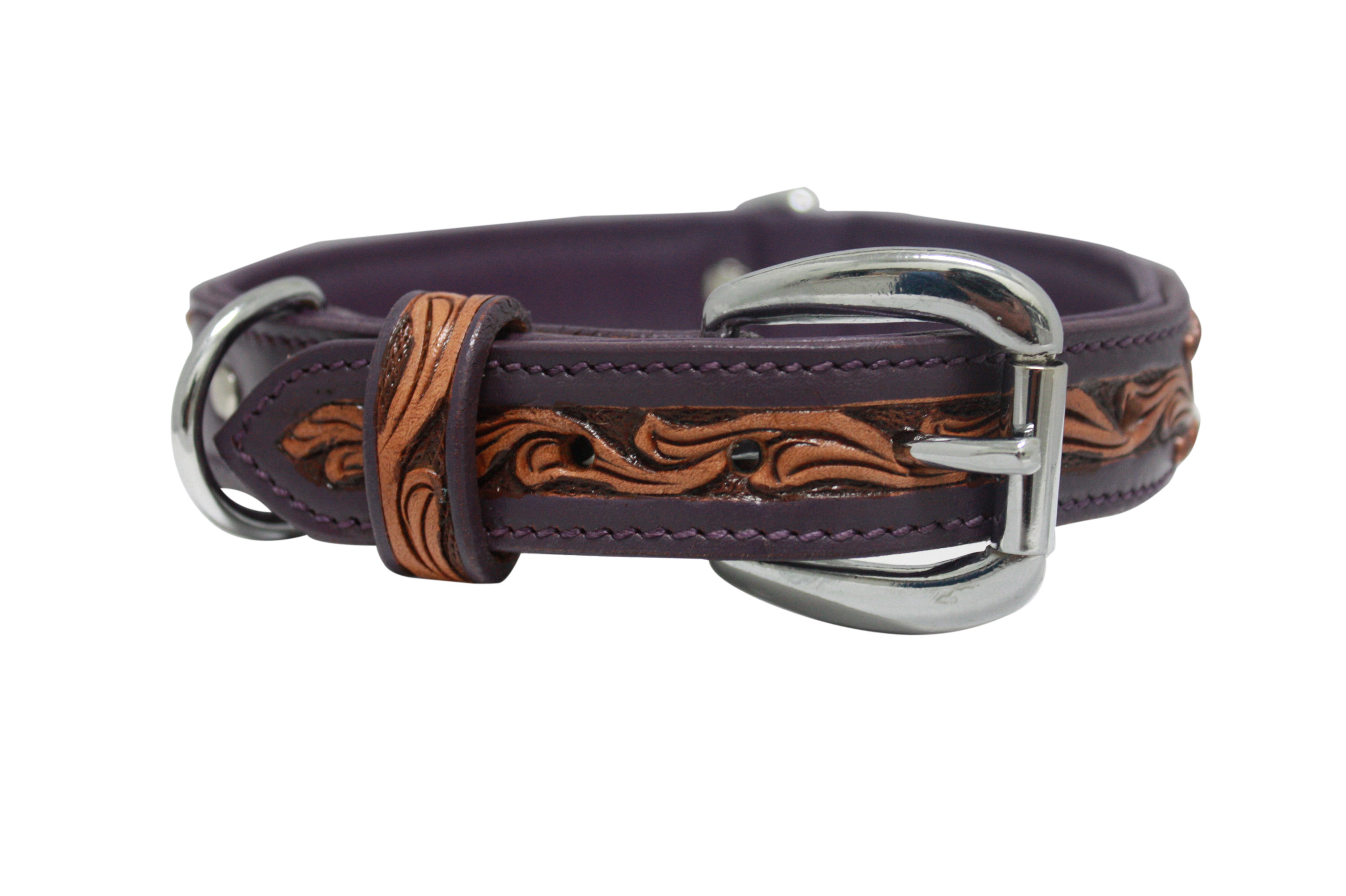 Hot Dog The San Antonio - Luxury Leather Dog Collar