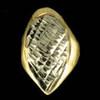 ChiGrillz Single Goldteeth Grillz Style-0117 One Gold slug dental gold tooth cap diamond cut grills w fang