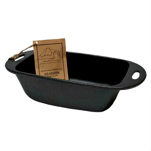Old Mountain Cast Iron Pre-seasoned Loaf Pan