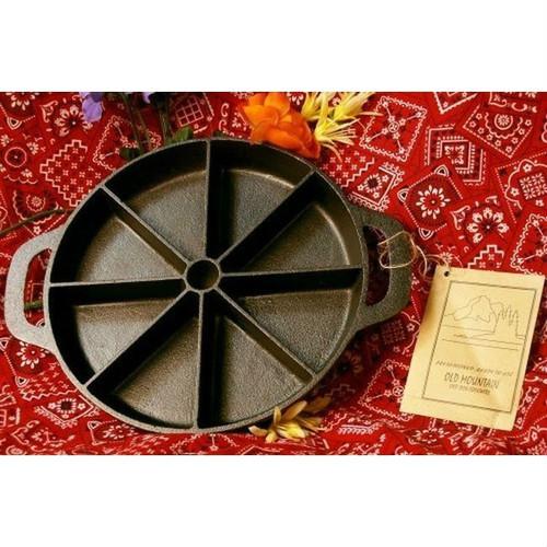 Old Mountain Cast Iron Pre-Season Pre-Sliced Cornbread Pan