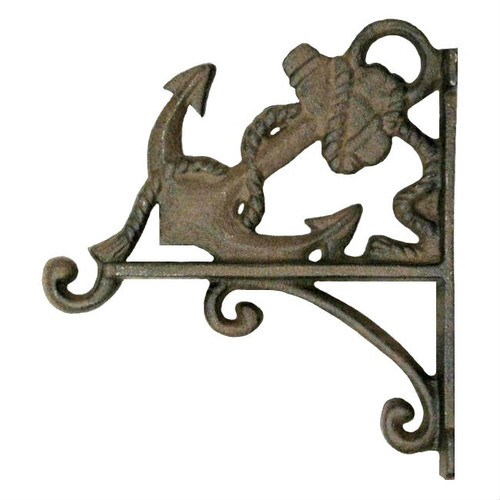 Anchor Wall Cast Iron Wall Mounted Plant Hanger
