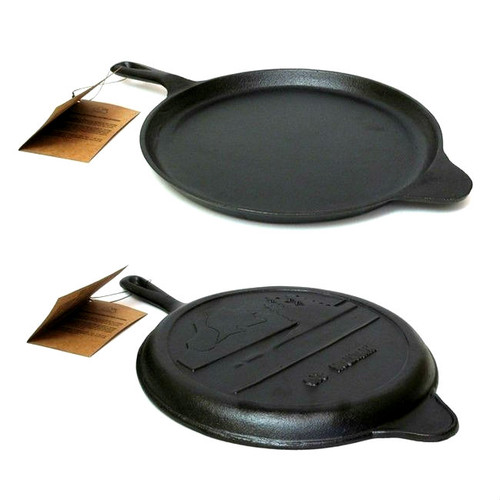Old Mountain Cast Iron Pre-Seasoned Round Griddle