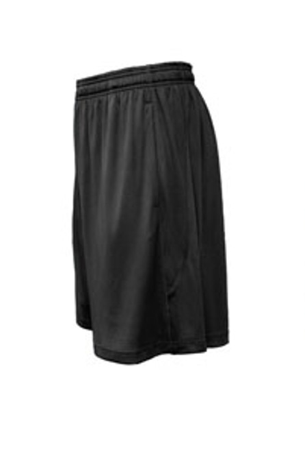 Boys Sport Short - Black  - Rams Embroidered