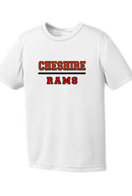 Girls Youth Wicking T- shirt RAMS