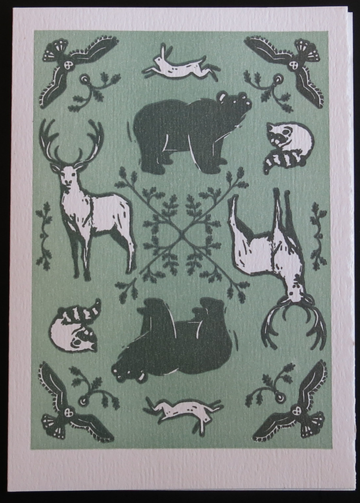 Forest Animals card