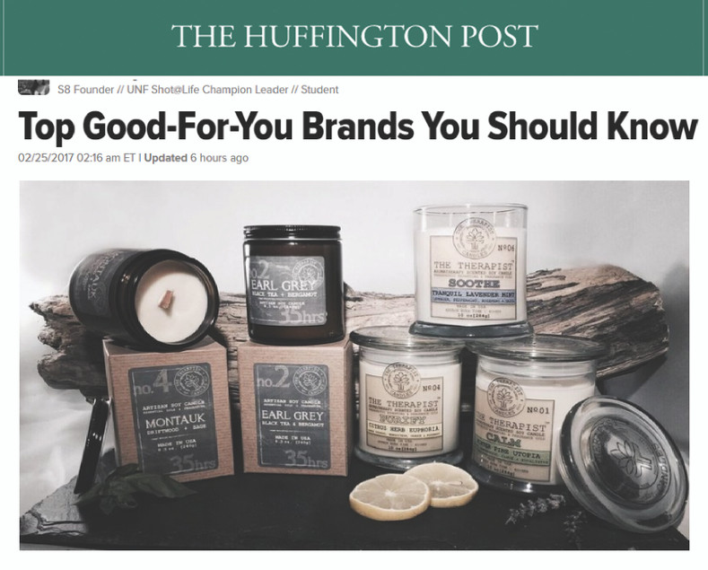 Top Good-For-You Brands You Should Know  - Article by the Huffington Post