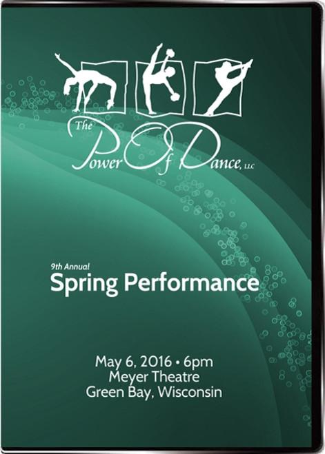 Power of Dance Recital 2016