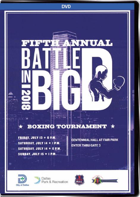 Battle in Big D Boxing Tournament