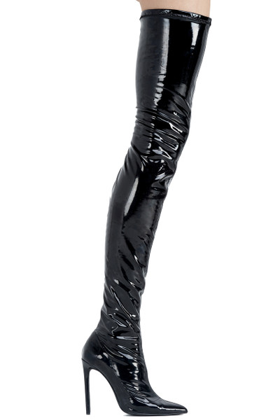 LQS PVC THIGH-HIGH