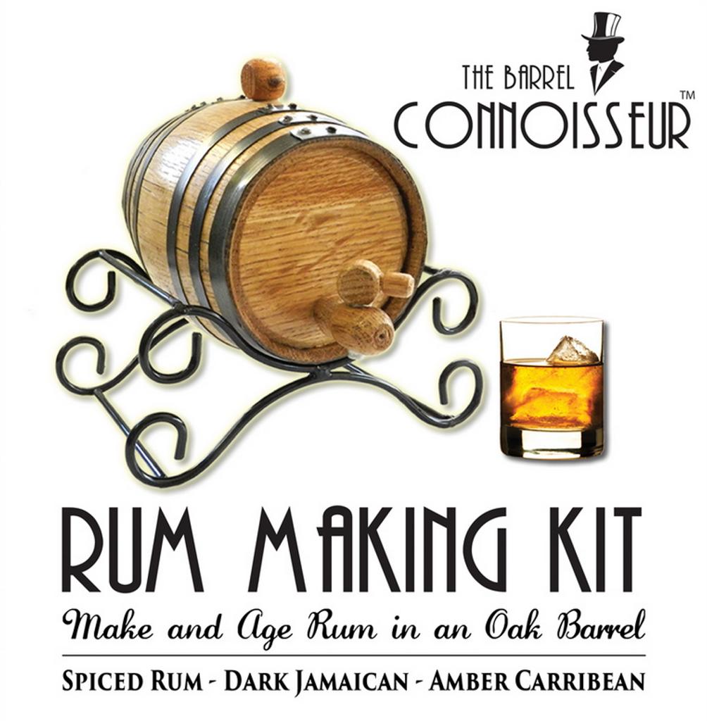 The Barrel Connoisseur® Rum Making Kit