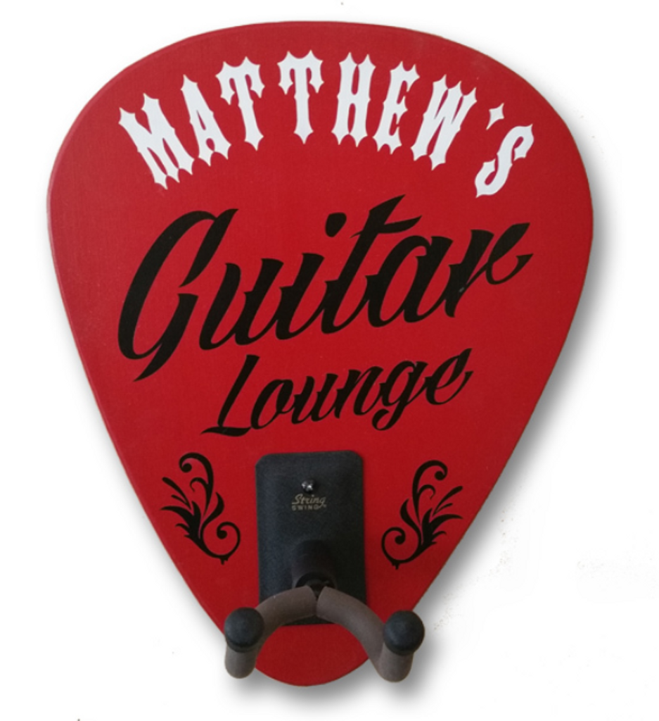 Personalized Guitar Lounge Sign