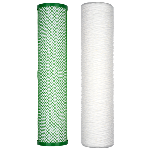 Filter Replacement Set: Two-Stage Whole Home Cartridge Unit