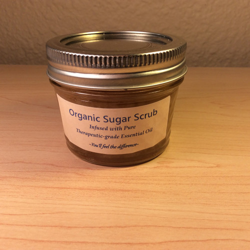 Organic Honey Citrus Scrub