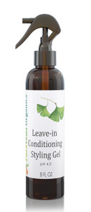 PURAVEDA LEAVE-IN CONDITIONING STYLING GEL - Light Hold Organic Leave-In Hair Conditioner