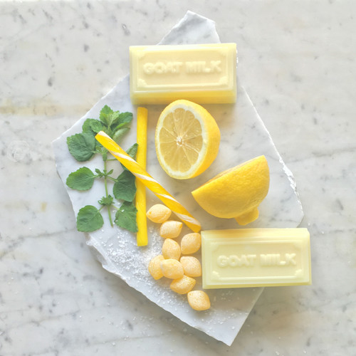 Locally Made Lemon Goat Milk Soap
