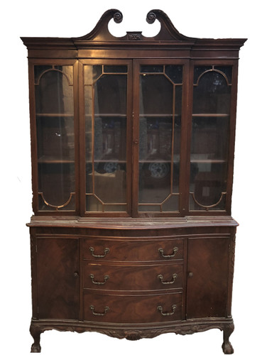 China Hutch with Shelves