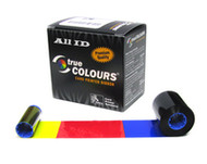 800015-902 Zebra I Series Red Monochrome Ribbon Cartridge