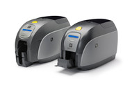 Zebra ZXp Series 1 Single-Sided Card Printer, USB, Color Media Starter Kit