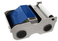 44233 Fargo Blue Cartridge w/ Cleaning Roller-1000 images