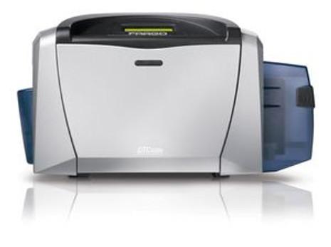 54114 Fargo DTC400e Single-Sided Color ID Card Printer w/ Mag Encoder