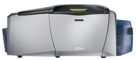 54103 Fargo DTC400e Dual-Sided Color ID Card Printer w/ Mag Encoder