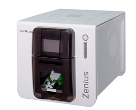 EVOLIS, ZENIUS EXPERT, BROWN, WITHOUT OPTION, USB & ETHERNET