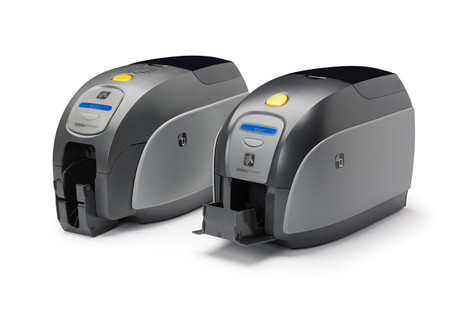 Zebra ZXP Series 1 Single-Sided Card Printer, USB, Magnetic Encoder and Color Media Kit
