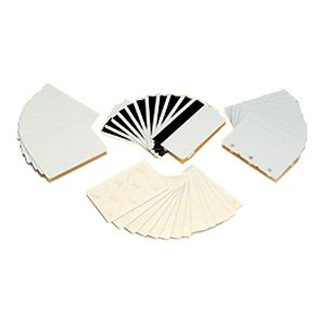 104523-170 Zebra recycled PVC cards 30 mil 500 count