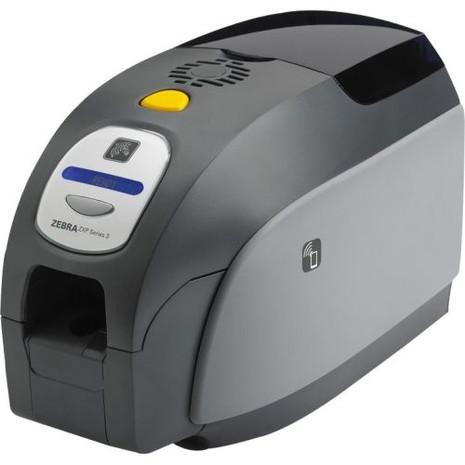 Z31-00A00200US00 Zebra ZXP Series 3 Single-Sided Card Printer, USB, US Power Cord, Enclosure Lock