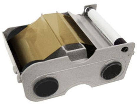 44207 Fargo Persona Gold Metallic ribbon w/Cleaning Roller - 500 images