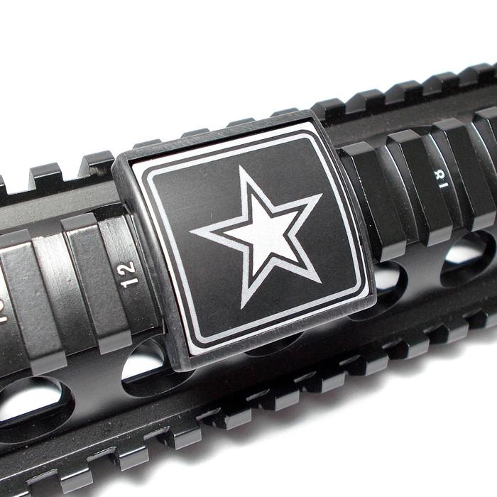 ARMY STAR- SMALL LEA