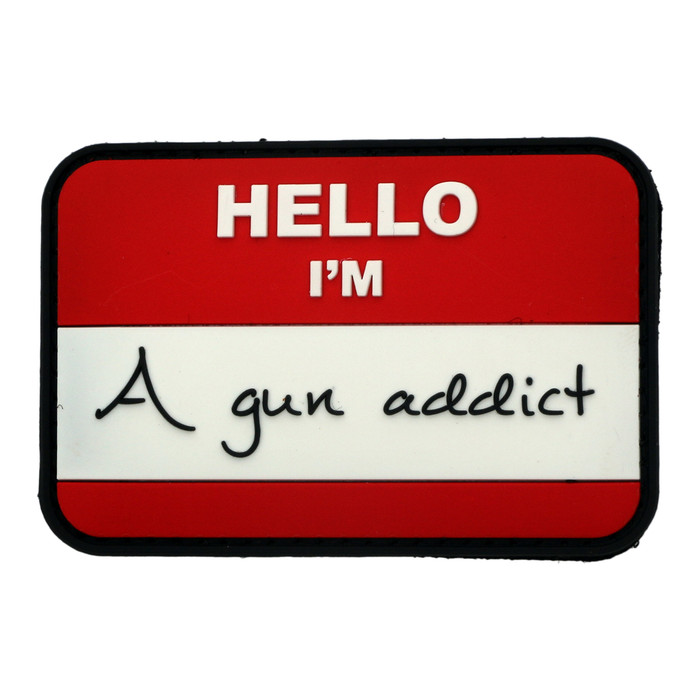 Gun Addict PVC Patch