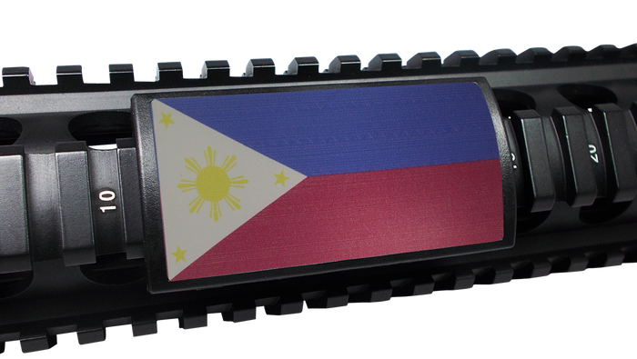 Philippines Flag Rail Cover