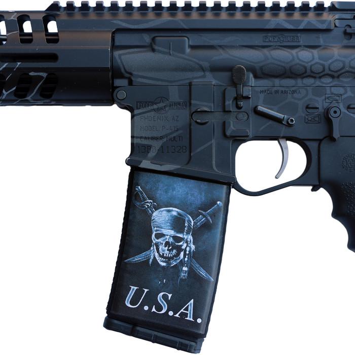 USA SKULL X SWORDS