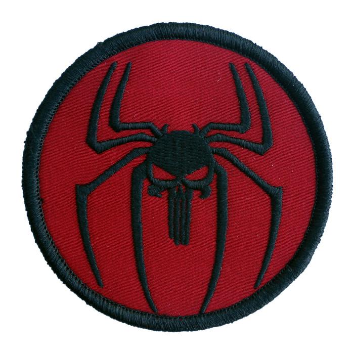 SPIDERMAN-PUNISHER PATCH