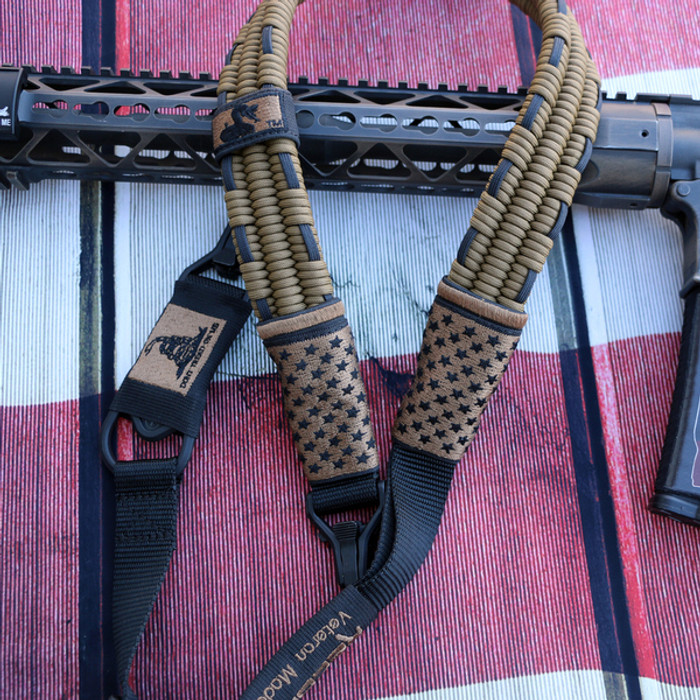 FDE/ BLACK SUBDUED US FLAG SLING