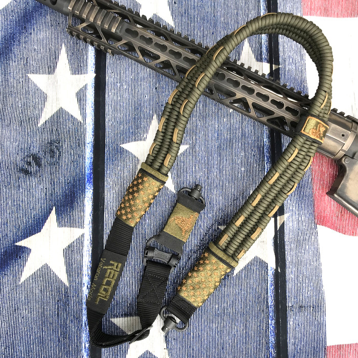 OD GREEN/ FDE US FLAG SLING